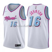 Miami Heat Basket Tröja 2018 James Johnson 16# City Edition..
